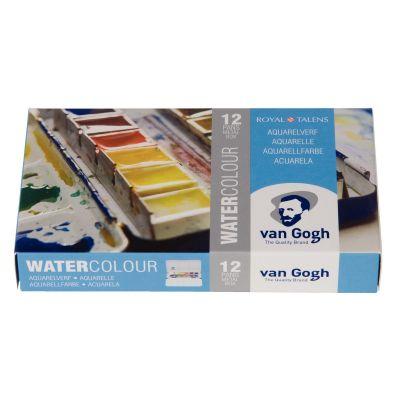 Acuarela Van Gogh x12