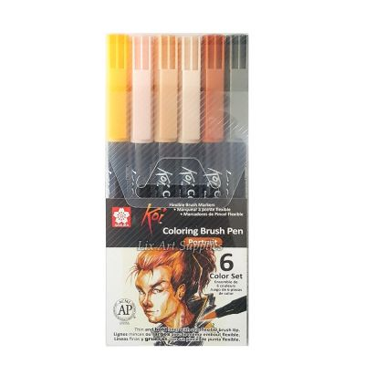 Koi Coloring Brush Estuche x6 PIELES