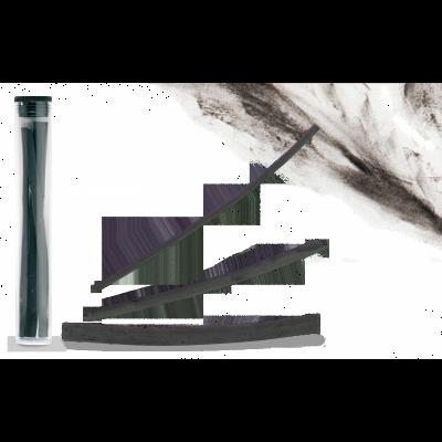 Carbón natural tubo x3
