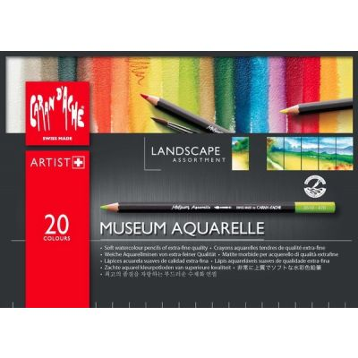 MUSEUM Aquarelle x20 (paisaje)