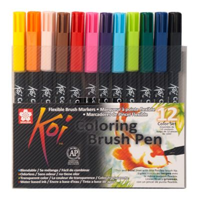 Koi Coloring Brush Estuche x12