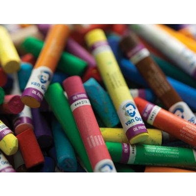 Oleo Pastel x60 colores - Van Gogh caja corporativa