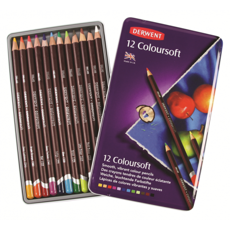 Derwent Coloursoft X12