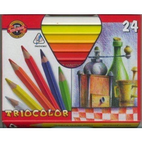 Caja de colores triocolor koh-i-noor x 24