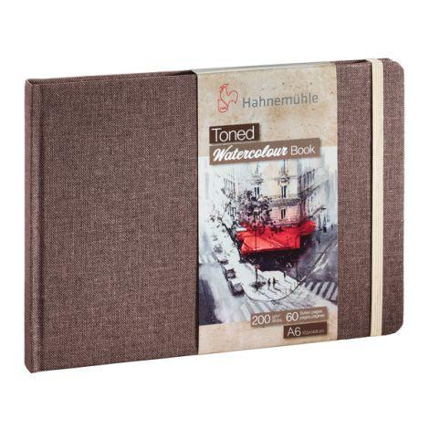 Toned Watercolour Books - BEIGE A6