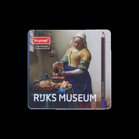 Rijksmuseum Bruynzeel Lápices de color x24 - Lechera de Vermeer