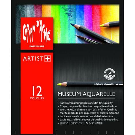 MUSEUM Aquarelle x12