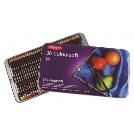 Derwent Coloursoft X36