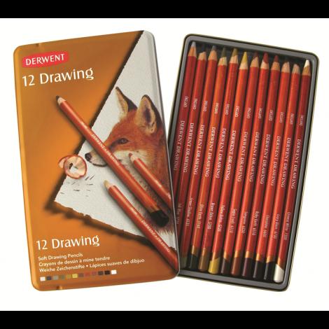 Derwent Drawing x12