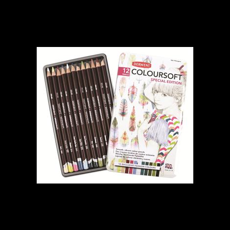 Derwent Coloursoft x12 Edicion Especial Modas