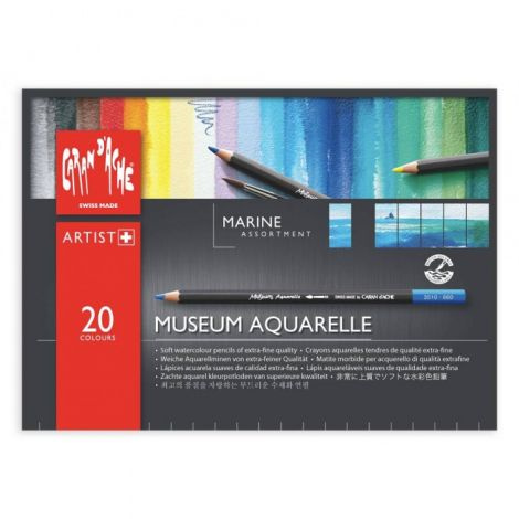 MUSEUM Aquarelle x20 (marina)