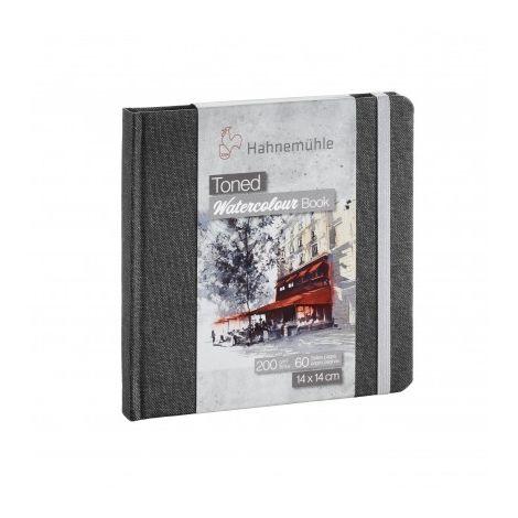 Toned Watercolour Books - GRIS 14x14