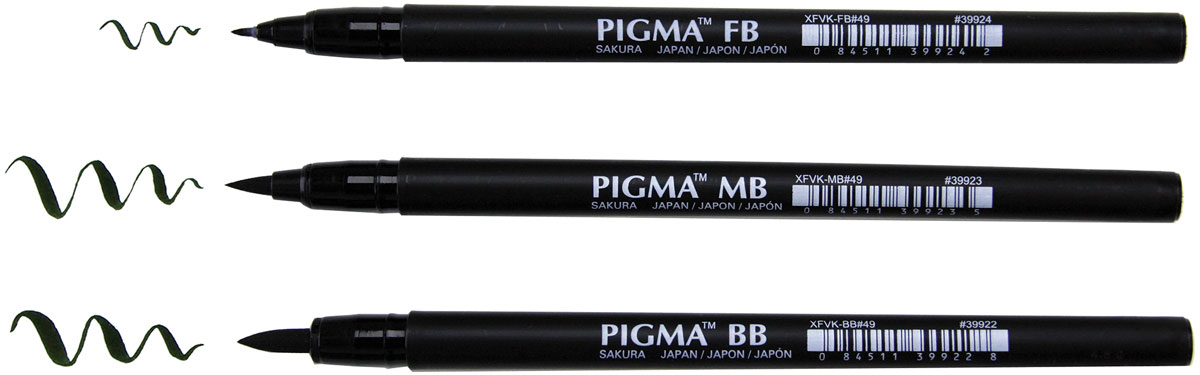 Pigma Brush