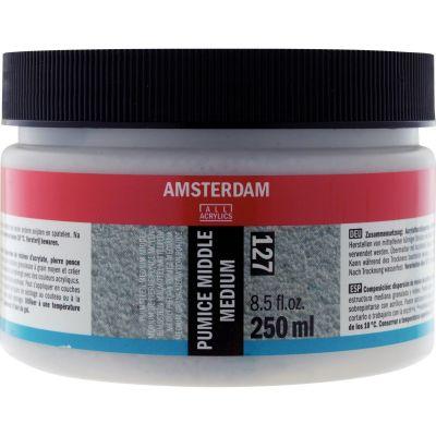 GESSO AMSTERDAM 007 500ML NEGRO