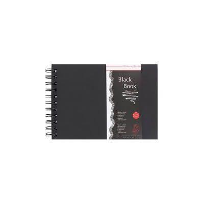 Black Book A5 250gr 30hjas