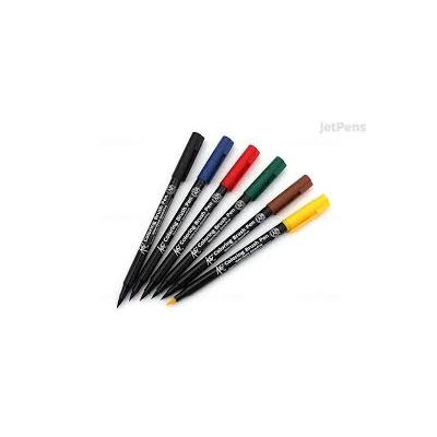 Koi Coloring Brush Estuche x6 BASIG