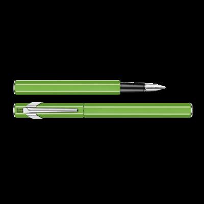 Pluma Estilográfica 849 Metal -  Verde Fluo