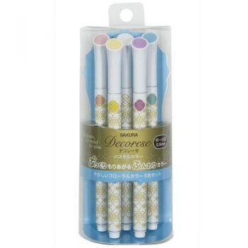 "Decorece Sakura Pastel set B ""Floral Color"""