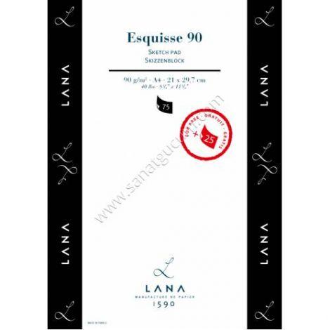 Block Esquisse 90gr Hahnemuhle A4 40hojas