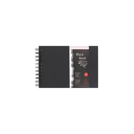 Black Book A4 250gr 30hojas