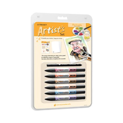AquaMarker Artist Sets Retrato