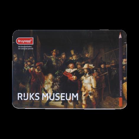 Rijksmuseum Bruynzeel Lápices de color x50- La Ronda de Noche de Rembrandt