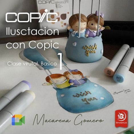 Ilustración con COPIC