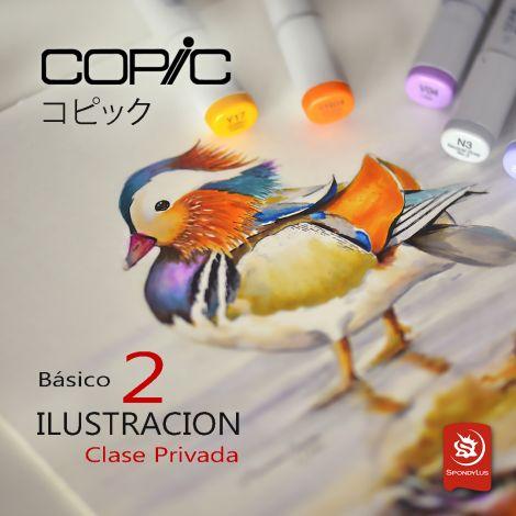Ilustración con Copic - Basico 2