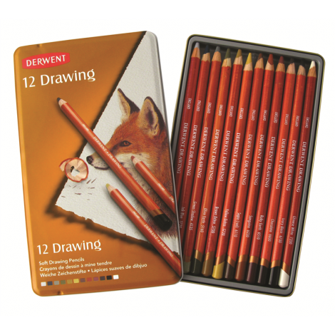 Derwent Drawing x12