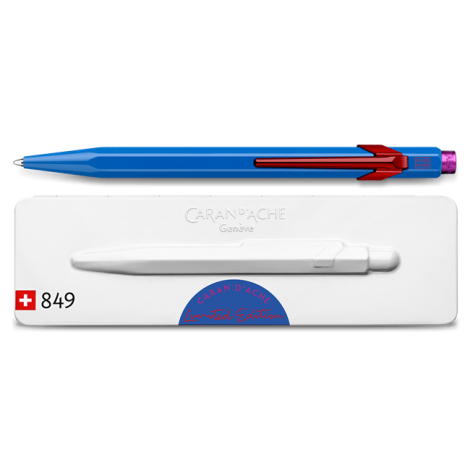 Ballpoint Pen 849 CLAIM YOUR STYLE Cobalt Blue – Limited Edition