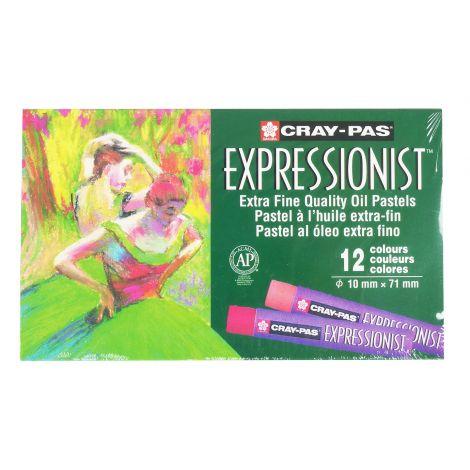 Oleo Pastel Sakura Expressionist x12