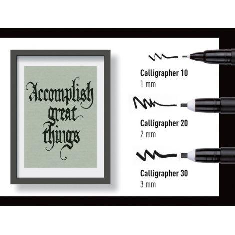 Pigma Calligrapher, negro