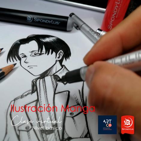Ilustración Tradicional Manga
