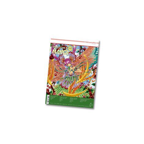 Block Manga Papel Ilustracion A3