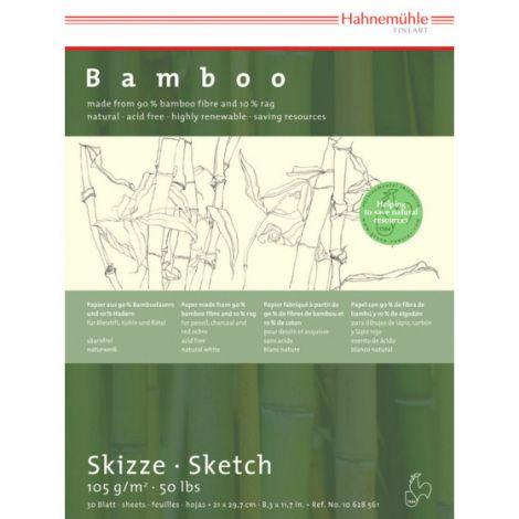 block Bamboo Skizze Boceto 105gr A4 30h