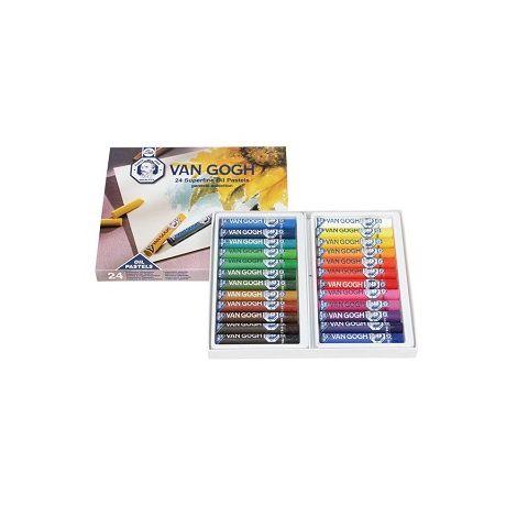 Oleo Pastel x24 colores - Van Gogh