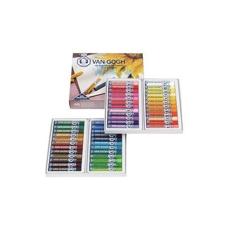 Oleo Pastel x48 colores - Van Gogh