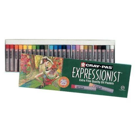 Oleo Pastel Sakura Expressionist x25